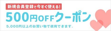 500円OFFクーポンをプレゼント